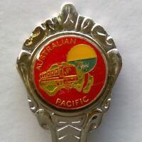 Australian Pacific Bus Coach Tour Souvenir Spoon Teaspoon (T161)