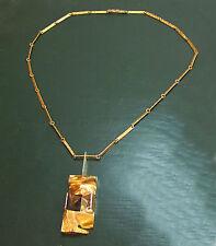 Mächtiges LAPPONIA 750er GOLDCOLLIER m. STEINEN • 38,15 g Gold-Kette Goldkette