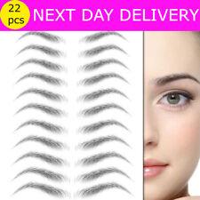 6D Eyebrows Tattoo Real Look Sticker False Eyebrow Waterproof Stick On Makeup UK