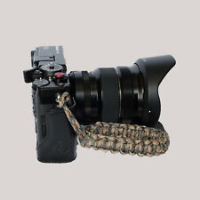 """Red /""""Shark/"""" Paracord Wrist Strap for DSLR Compact Cameras Fuji Canon Sony X-Pro2"""