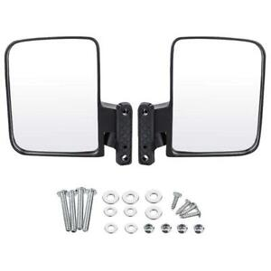Golf Cart Mirrors - 2 x Side Mirror to suit Club Car, EZGO, Yamaha Buggy Buggie