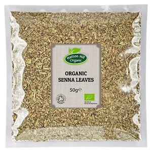 Organic Senna Leaves Tea 50g Certified Organic