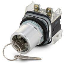 Cylinder lock keyswitch 30mm off/on 03-0195