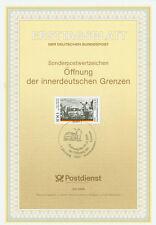 BRD ETB Ersttagsblatt 42/1994 Öffnung der Grenzen Mi.Nr.1769