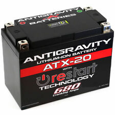Antigravity AG-ATX20-RS Re Start Lithium Ion Motorcycle Battery BMS 680 CCA 20Ah