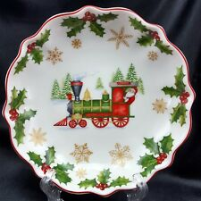 """Villeroy and Boch Annual Christmas Bowl 2017 Train 6.5"""" Toys Delight NEW"""
