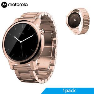 Motorola Moto 360 (2nd Gen.) Womens 42mm Smart Watches, Rose Gold Metal