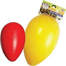 """Jolly Pets Durable Hard Shell Erratic Rolling Float Play Chew Toy - Jolly Egg 8"""""""