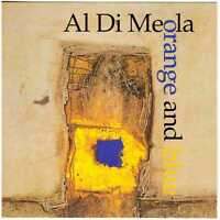 AL Di MEOLA Orange and Blue CD Jazz/Fusion – Club Edition, on BlueMoon, dimeola