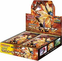 "Pokemon Card Game ""Ultra Sun"" Sun & Moon Expansion Pack BOX Japan ver"