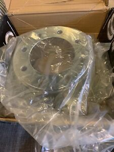 Front Drilled Slotted Brake Rotor for 05-12 Ford F-250 Super Duty