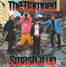 """THE DAMNED Smash It Up red vinyl 7"""" punk rock 40th anniversary issue Sensible"""