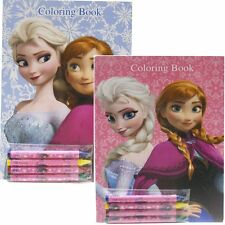 Disney Frozen Coloring Books Elsa and  Anna  (2 Books)-Brand New! v2