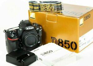 NIKON D850 FX DSLR 45.7MP 4K UHD Body Only