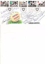 Football Legends Nine Retired Players Autographs Leeds United