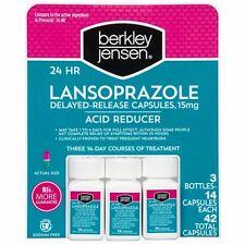 Berkley Jensen 24 Hour Lansoprazole Acid Reducer , 3 packs. Total 42 Count