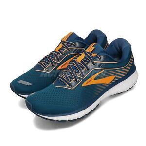 Brooks Ghost 12 Cyan Blue Orange Mens Road Running Shoes 110316 1D 426