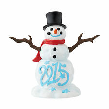 Dept 56 Lucky the Snowman 2015 4047548 Accessory NEW Department 56  Dated Annual