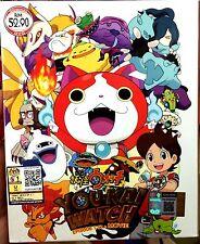 Yokai Watch (Chapter 1 - 50 End + Movie) ~ 5-DVD SET ~ English Subtitle ~ Youkai