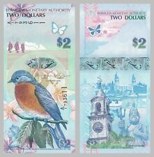 Bermuda 2 Dollars 2009 p57b unz.