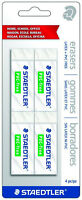 Staedtler PVC Free & Latex Free White Soft Vinyl Pencil Erasers For Paper