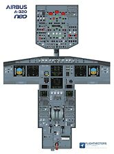 Cockpit - Flight Deck Training Posters 25%-100% - Airbus A320 NEO - from £29.95