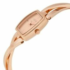 REDUCED DKNY genuine ladies bracelet watch NY2314 Crosswalk Rose Gold Tone BNWT