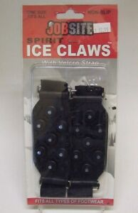Jobsite Non-Slip Spirit Ice Claws NEW NIP One Size Fits All Types Footwear