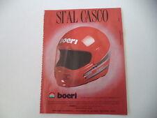 advertising Pubblicità 1987 CASCO HELMET BOERI