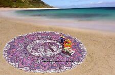 ❁ rond indien éléphant mandala bohème hippie bohème tapisserie yoga couverture ❁