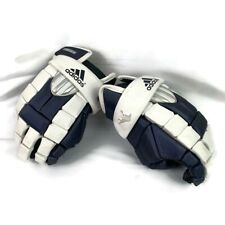 Adidas Excel Lacrosse Protective Gloves Navy White 13� Good Condition+