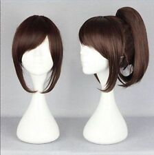New Attack on Titan Sasha Blouse Red-Brown Ponytail Cosplay Wig