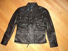 NWT $995 Polo Ralph Lauren Lamb Leather Jacket sz M