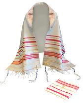 Pink Messianic Prayer Shawl with matching Bag