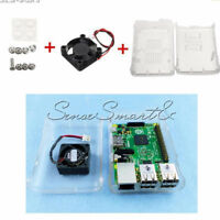 ABS Case Cover Enclosure Combo Box+Cooling Fan For Raspberry Pi2 Pi3 Model B+