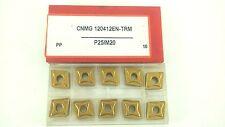 ONE NEW CERATIZIT CNMG433EN-TRM CNMG 120412EN-TRM P25/M20  CARBIDE INSERT