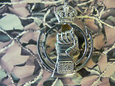 Royal Armoured Corps Cap Badge Kings Crown