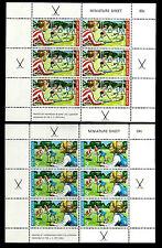New Zealand. Children's Stamps. 1971. Scott B82-B83. Miniature sheets MNH (BI#3)