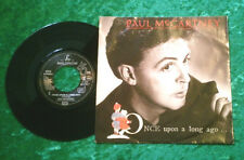 """Single 7"""" Paul McCartney - Once upon a long ago TOP ZUSTAND!"""