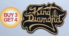 KING DIAMOND G PATCH BUY3GET4,MERCYFUL FATE,ANGEL WITCH,HEAVY METAL CHURCH,ATTIC