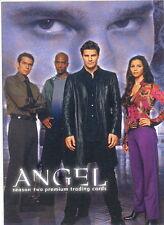 ANGEL SEASON 2 2001 INKWORKS SAN DIEGO COMIC CON PROMO CARD A2-SD2001