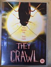 Daniel Cosgrove, Tamara Davies THEY CRAWL ~ Cult Cockroach Horror | UK DVD