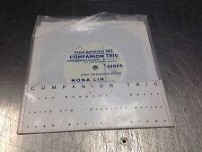 "Companion Trio Nona Lim/CLUJ 7"" vinyl LIVE at Knitting Factory 1997"