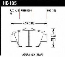 Hawk Perf HB185R.590 Disc Brake Pad for Acura