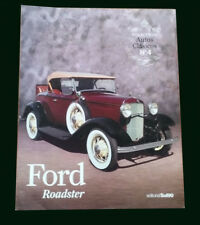 FORD ROADSTER - Special Coleccion Autos Clasicos # 4 - Classic Cars Book