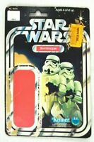 Vintage Star Wars Stormtrooper 12 Back Cardback Card Back ONLY