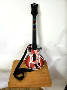 RedOctane Les Paul Guitar Hero Controller 95339.805 Xbox 360 - Aerosmith Plate