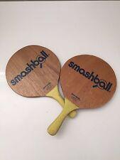 2 Original Israeli Beach Racquet Matkot Paddles TING-DONG Wood Game Kids Adult