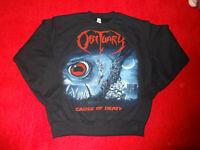Obituary Sweatshirt Import Sold Out Monstrosity Broken Hope Death ( L )