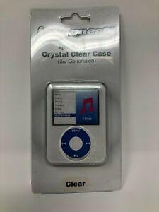 NEW iPod Nano 3rd Gen Hard Crystal Clear Case (3244)